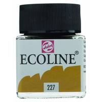 Ecoline Liquid Watercolor: Yellow Ochre 227