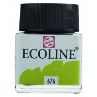 Ecoline Liquid Watercolor: Grass Green 676