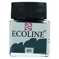 Ecoline Liquid Watercolor: Fir Green 654