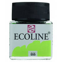 Ecoline Liquid Watercolor: Pastel Green 666