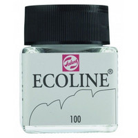 Ecoline Liquid Watercolor: White 100