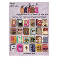 Pocket Cards 3x4 : Everyday Eccentric