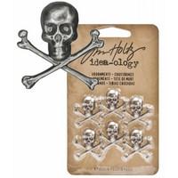 Tim Holtz Idea-ology: Adornments Crossbones