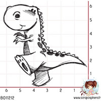 Dino 4  - leimasin