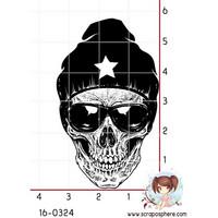 Beanie Skull  - leimasin