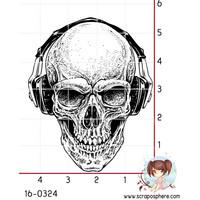 B-Boy Skull  - leimasin