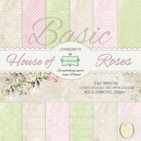 House of Roses Vol 1 Basic 12x12 - paperikokoelma