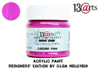 Acrylic Paint 50 ml by Olga Heldwein:  Orchid Pink