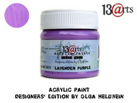 Acrylic Paint 50 ml by Olga Heldwein:  Lavender Purple