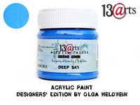 Acrylic Paint 50 ml by Olga Heldwein:  Deep Sky