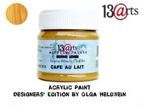 Acrylic Paint 50 ml by Olga Heldwein:  Cafe Au Lait