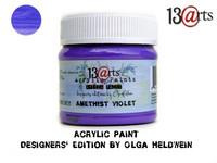 Acrylic Paint 50 ml by Olga Heldwein:  Amethist Violet