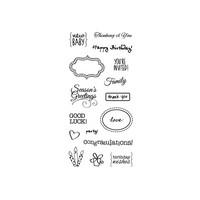 Simple Expressions - kirkas leimasinsetti