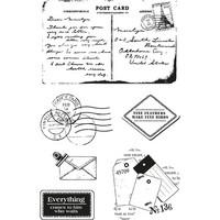 Postmarks A6 - kirkas leimasinsetti