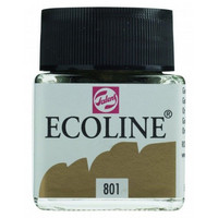 Ecoline Liquid Watercolor: Gold Metallic 801