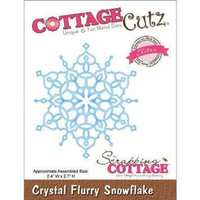Crystal Flurry Snowflake  -stanssi