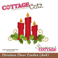 Christmas Cheer Candles  -stanssi