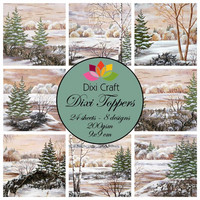 Dixi Toppers: Winter Trees