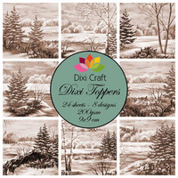 Dixi Toppers: Vintage Trees