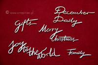 Brush Art Script:  Merry  - leikekuviopakkaus