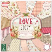 Love Story 8x8 - paperilehtiö