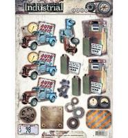 Industrial  #416 3D -arkki