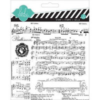 Mixed Media Clear Stamps: Music Notes