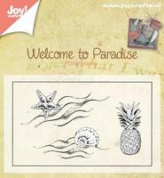 Welcome to Paradise 2 - kirkas leimasinsetti