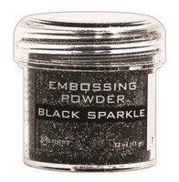 Embossing Powder: Black Sparkle 34ml