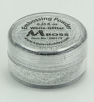 MBoss: White Glitter -kohojauhe