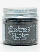 Distress Glitter: Black Soot