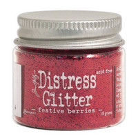 Distress Glitter: Festive Berries