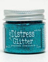 Distress Glitter: Peacock Feathers