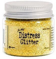 Distress Glitter: Mustard Seed