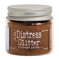 Distress Glitter: Vintage Photo