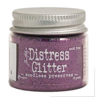 Distress Glitter: Seedless Preserves
