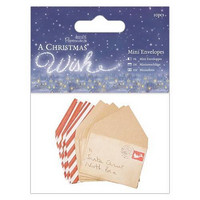Christmas Wish: Mini Envelopes