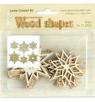 Wood Shapes: Stars