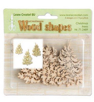 Wood Shapes: Christmas Trees