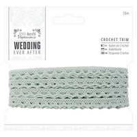 Wedding Ever After: Crochet Trim 10m  - puuvillapitsi