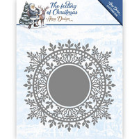Feeling of Christmas: Ice Crystal Circle  -stanssi