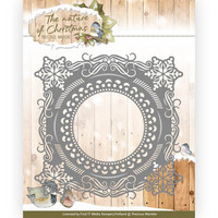 The Nature of Christmas: Christmas Snowflake Frame -stanssi