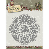 Celebrating Christmas: Jingle Bells Circle Frame  -stanssisetti