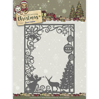 Celebrating Christmas: Scene Rectangle Frame  -stanssi