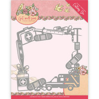 Get Well Soon: Get Well Frame  -stanssi