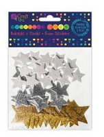 Glitter Foam Stickers: Stars