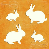 Bunnies -chipboardpakkaus