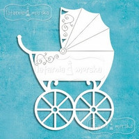 Baby Carriage -chipboardpakkaus