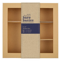 Papermania Bare Basics Shadow Box 8 x 8