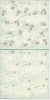 A Magical Christmas: Vintage Postcard  12x12 skräppipaperiarkki